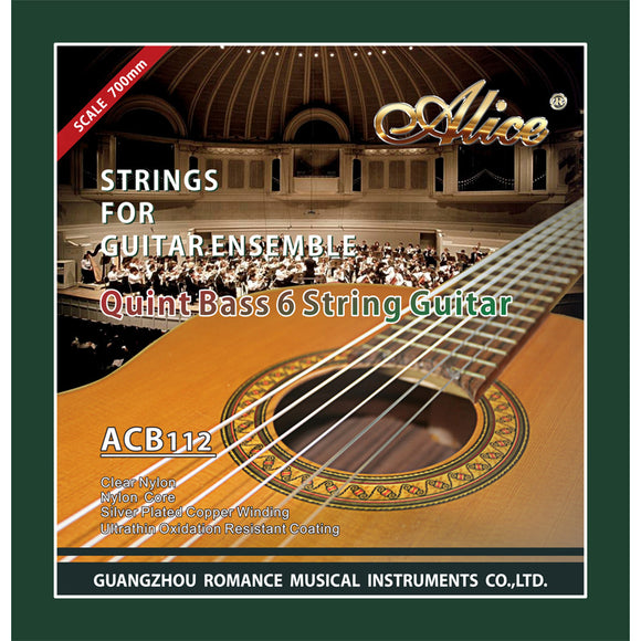 Alice Quint Bass 6 String Guitar Strings