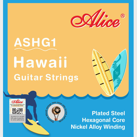 Alice Lap Steel/Hawaiian Guitar 8 String Set