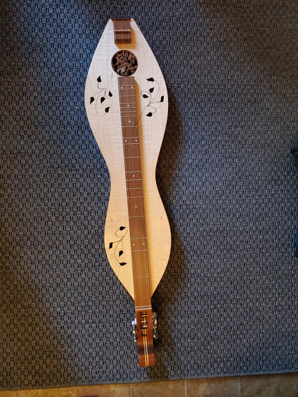 Banjo Dulcimer With Inlays: Maple top