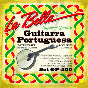 La Bella Guitarra Portuguesa Strings Set