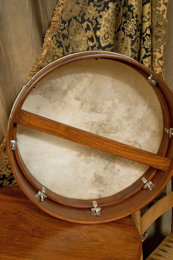 "Roosebeck Bodhran, 18""x4"", Tune, Rosewood, Single"