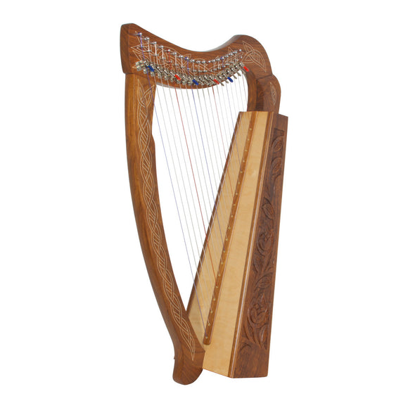 Roosebeck Pixie Harp 19-String Chelby Levers