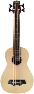 Makai Solid Top Series With White Binding Bass Ukulele MBS-70