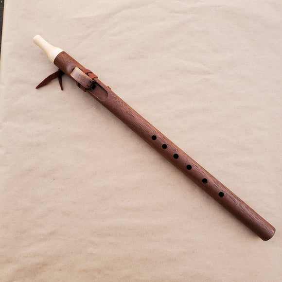 Native American Flute in F Minor by Nash Tavewa, Peruvian Black Walnut