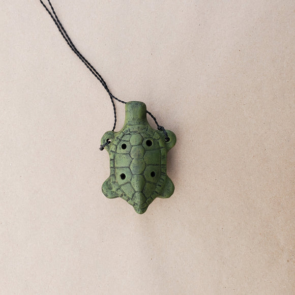 Turtle Necklace Ocarina by Nash Tavewa
