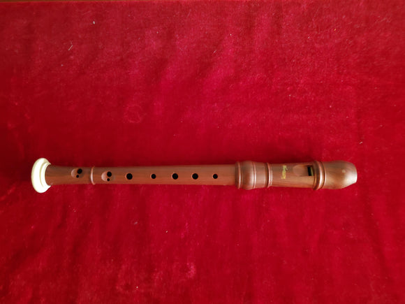 Woodnote Sopranino Baroque Recorder Wood Grain/Ivory Color