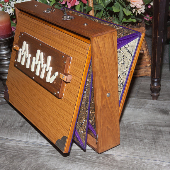 Shruti Box, Side Controls, Female Sardar