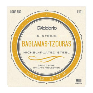 Accessories_Strings Baglamas-Tzouras Nickel Strings D'Addario EJ91