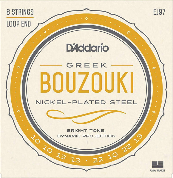 Accessories_Strings D'Addario 8-string Greek Bouzouki EJ97