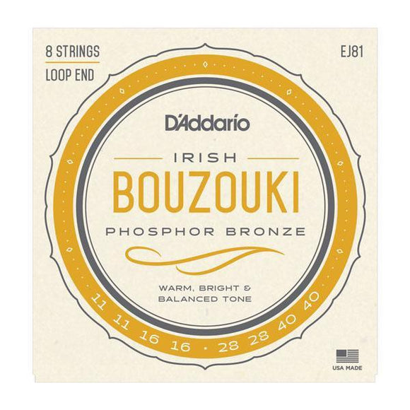 Accessories_Strings D'Addario Irish Bouzouki Strings