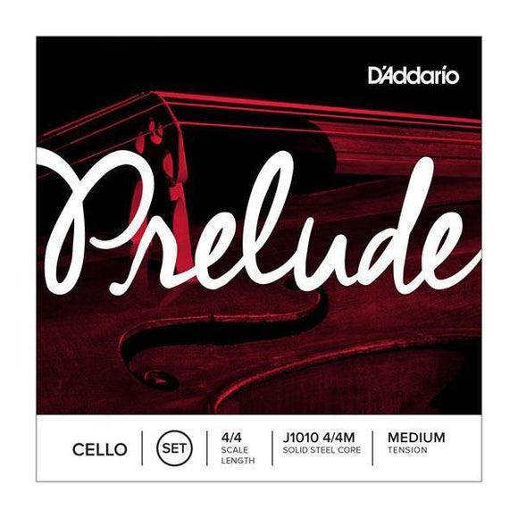 Accessories_Strings D'Addario J1010 Prelude Cello String Set, 4/4 Scale Medium Tension