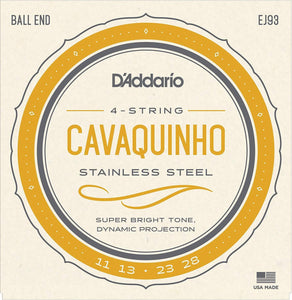 Accessories_Strings D'Addario Stainless Steel Cavaquinho String Set EJ93