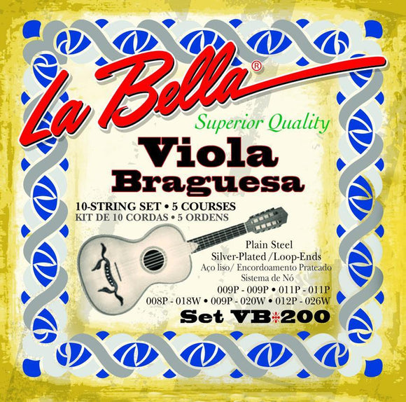 Accessories_Strings La Bella Viola Braguesa String Set