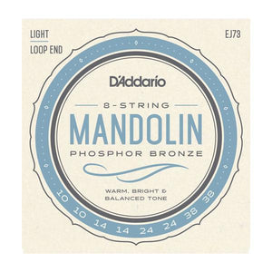 Accessories_Strings Mandolin Light Phosphor Bronze Strings D'Addario EJ73