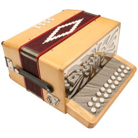 Accordions 2 Row Button Accordion G/C
