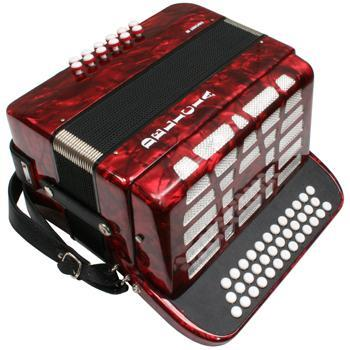 Accordions Favorit III Accordion, G/C/F