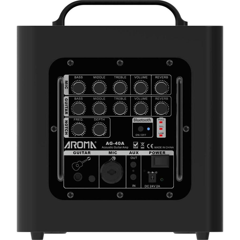 Amplifiers Aroma AG-40A Acoustic Amplifier