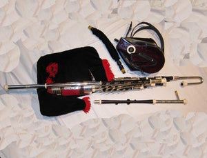 Bagpipes Uilleann Pipe Full Set and case