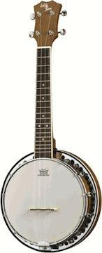 Banjos Eddy Finn Concert Banjo Uke With Resonator