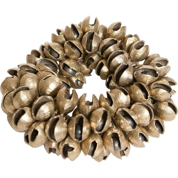 Bells Clam Bells, Brass, Plain, 100 Count