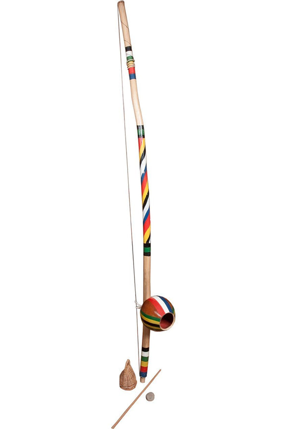 Berimbaus Berimbau Natural Finish Medium Painted Gourd (2 Boxes)