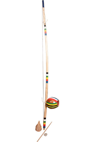 Berimbaus Berimbau Painted Stripes Medium Gourd (2 Boxes)
