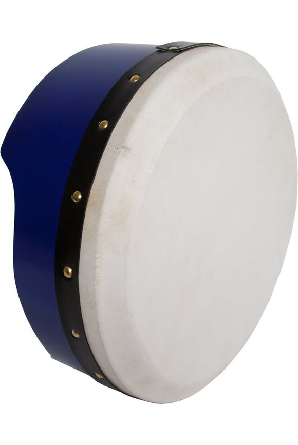 Bodhrans Roosebeck Tunable Ply Bodhran 13-by-5-Inch - Blue