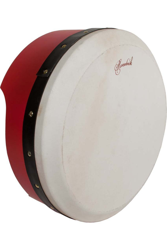 Bodhrans Roosebeck Tunable Ply Bodhran 13-by-5-Inch - Red