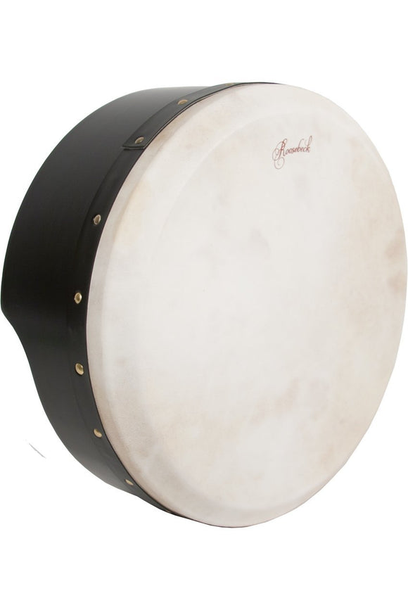 Bodhrans Roosebeck Tunable Ply Bodhran 15-by-5-Inch - Black