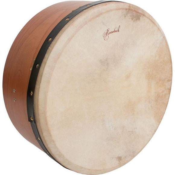 Bodhrans Roosebeck Tunable Red Cedar Bodhran Single-Bar 16 Inch x7 Inch
