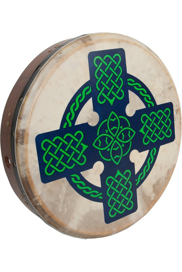 Bodhrans Roosebeck Tunable Sheesham Bodhran Cross-Bar 18