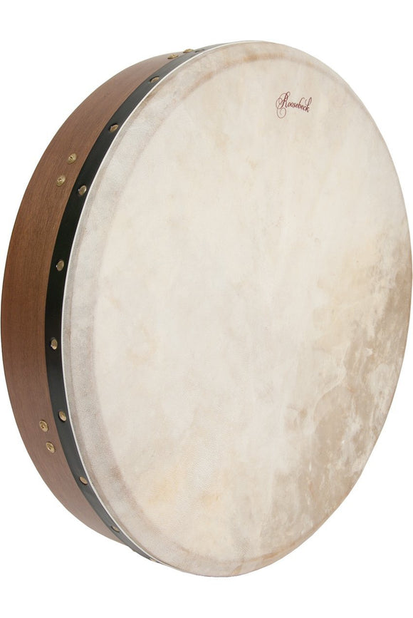 Bodhrans Roosebeck Tunable Walnut Bodhran Cross-Bar 18