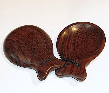 Castanets Rosewood castanet 67 mm, Single