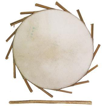 Clay drums Sakara Clay Drum 8""
