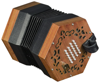 Concertinas Trinity College English-Style Concertina 48 Button
