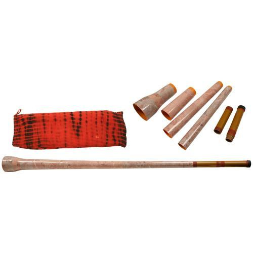 Didgeridoos 4 Piece Traveling Didgeridoo Package