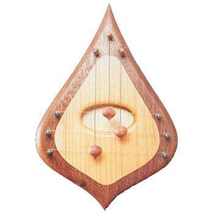 Door Harps Door Harp, 3 String Simple walnut/maple