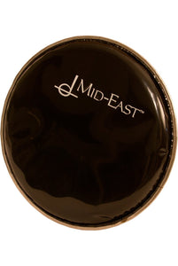 "Drum Skins Mid-East Synthetic Head for Aluminum Doumbek 6.5"" Black"
