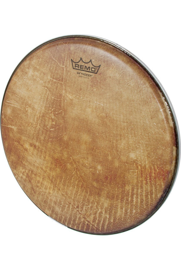 Drum Skins Remo Skyndeep Clear Tone R Series Doumbek Head 12-Inch Diameter 3/8-Inch Collar - Fish Skin Graphic
