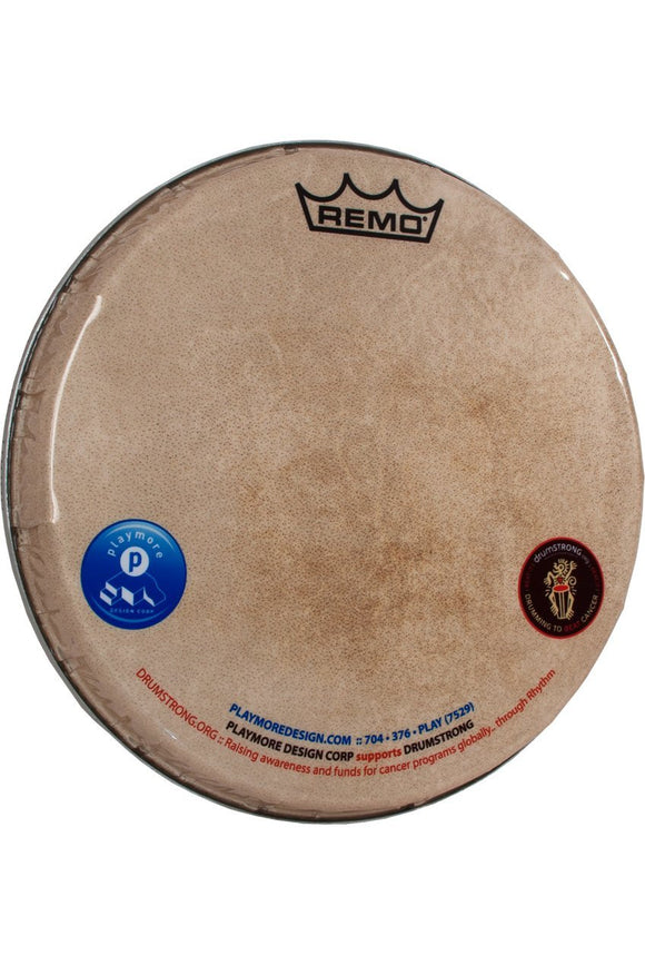 Drum Skins Remo Skyndeep Doumbek Head 10-Inch x 3/4-Inch - M5 Type, Playmore and DRUMSTRONG