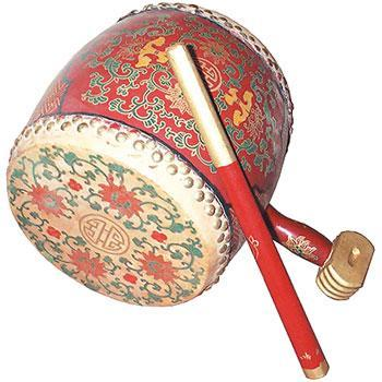 Drums - Others Flower Drum w/ small handle