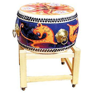 Drums - Others Japan Tai Drum, Beautiful Painted Design with stand