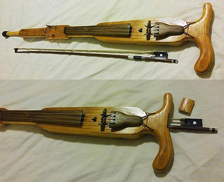 Fiddles Classic Walking Cane Fiddle