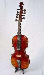 Fiddles Deluxe Fancy Norwegian Hardanger Fiddle
