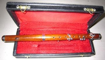 Flutes 4 Key Rosewood Piccolo (second)