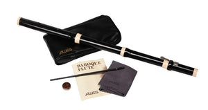 Flutes Aulos Traverso Baroque Flute, with vinyl pouch