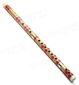 Flutes Chinese Traditional Handmade Dizi Bamboo Flute D/G With Cloth Pouch