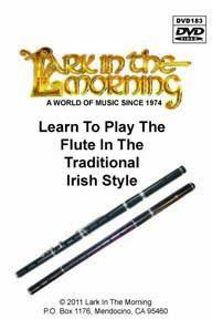 Flutes Irish Rosewood Flute, Beginner Package