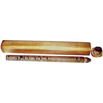 Flutes Stone flute with case in high G