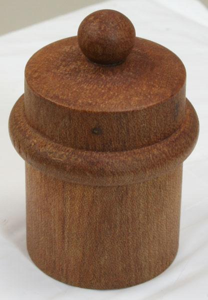 Flutes Wooden Cork Grease Box